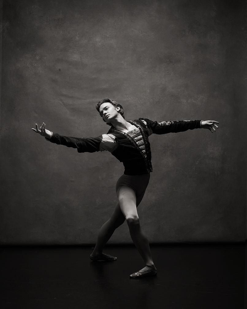 Jared Matthews, soloist with American Ballet Theatre