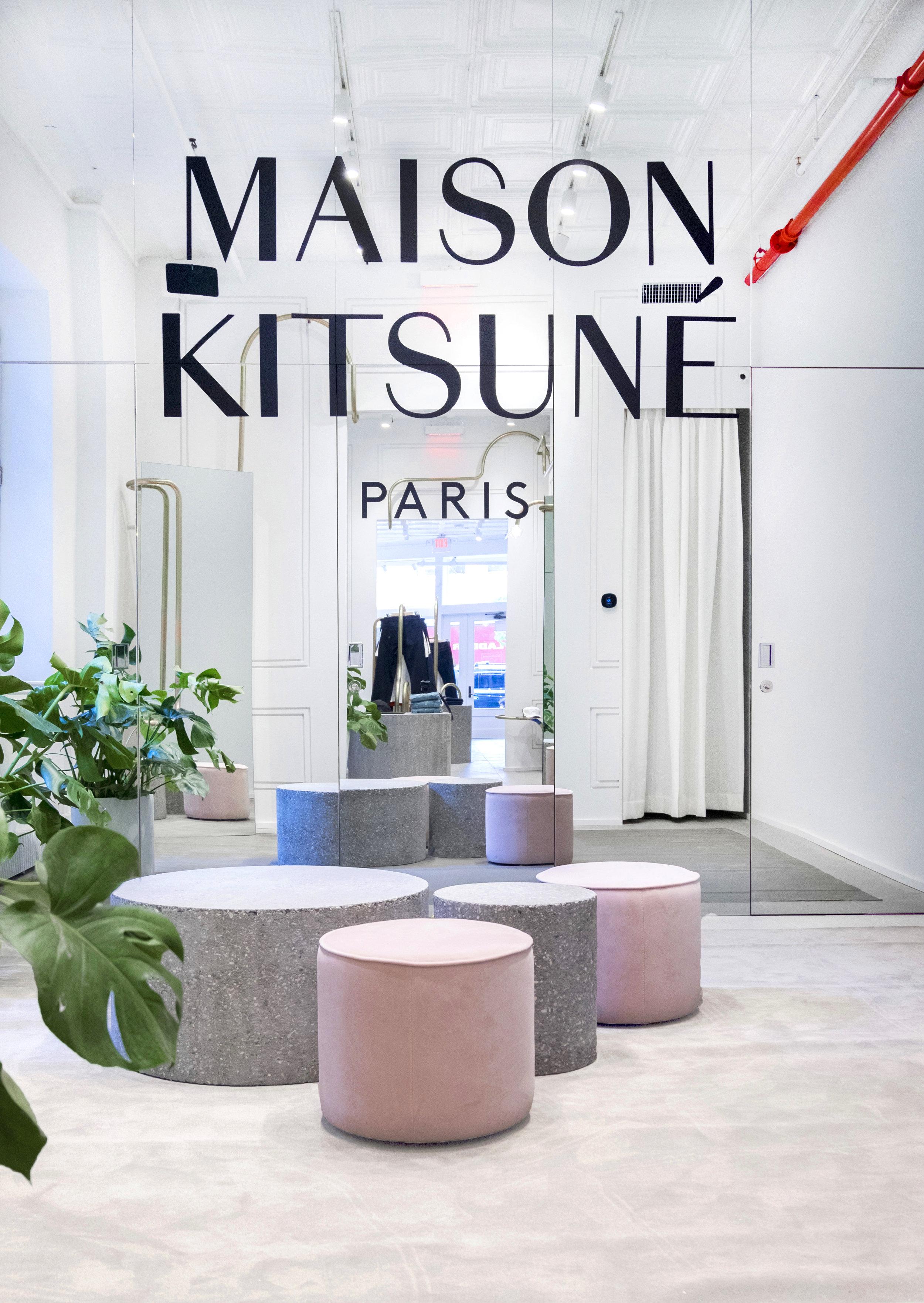 MAISON KITSUNE - New York