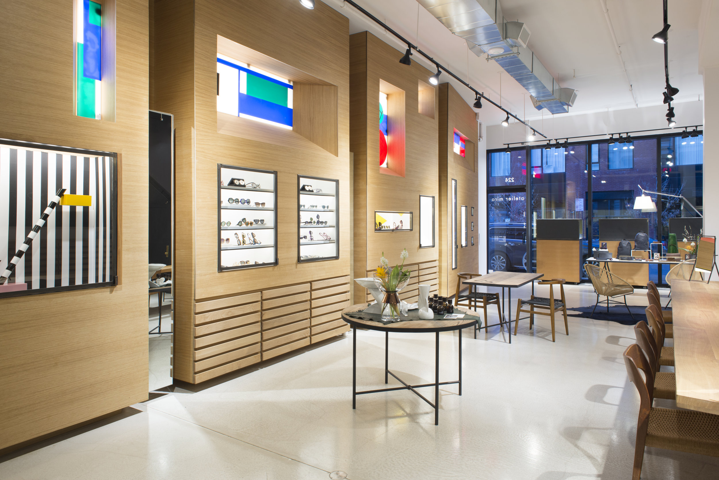 ATELIER MIRA - Concept Optical Boutique, New York