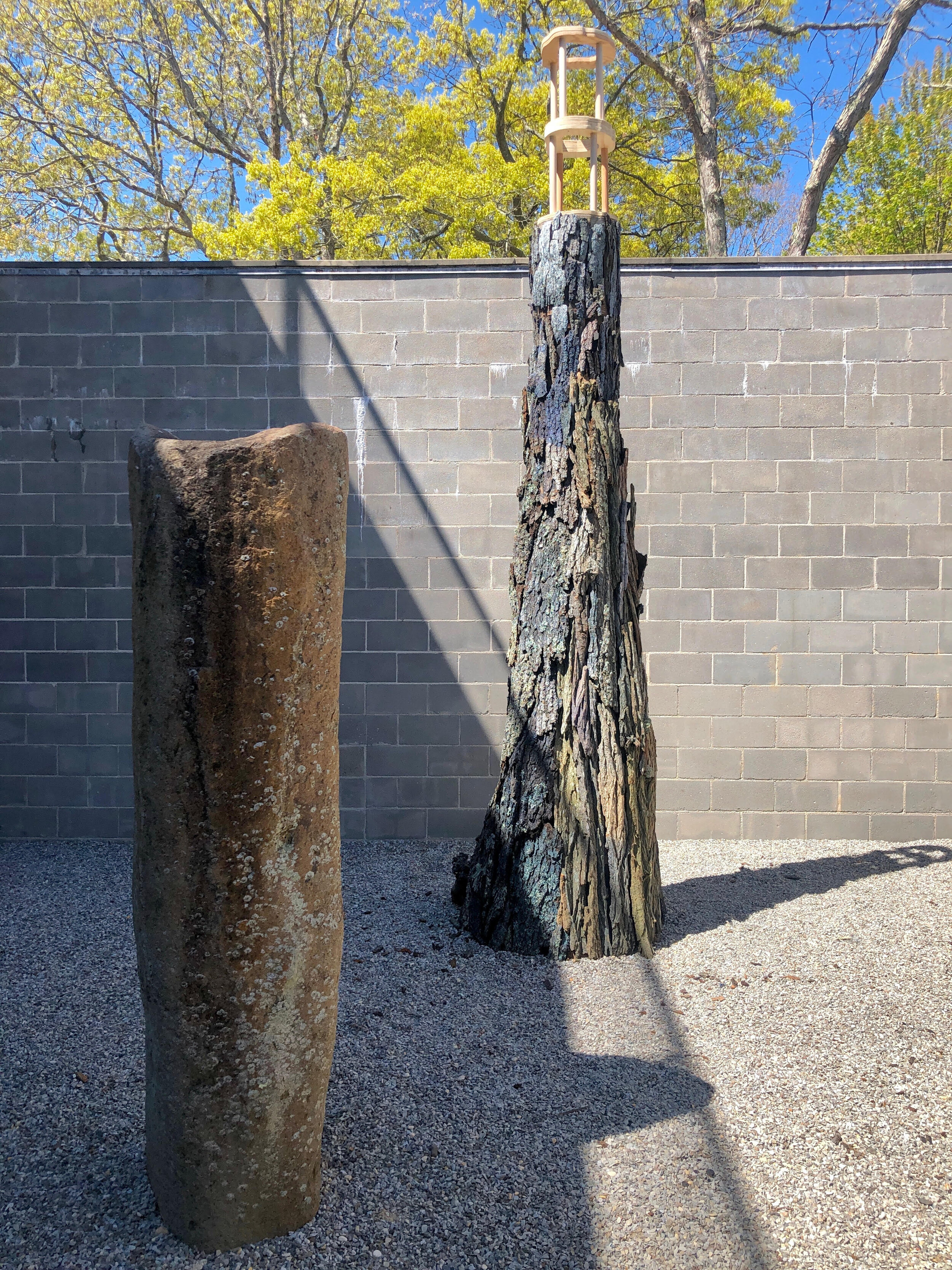 BLUE BARK - Laurie Lambrecht + Tony Ross - Watermill Art Center