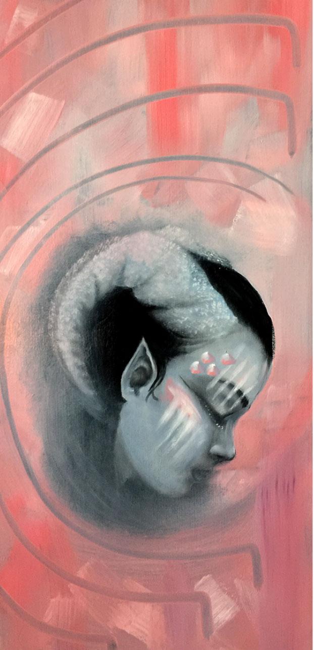 Lady Elvish - Oil on Canvas.jpg