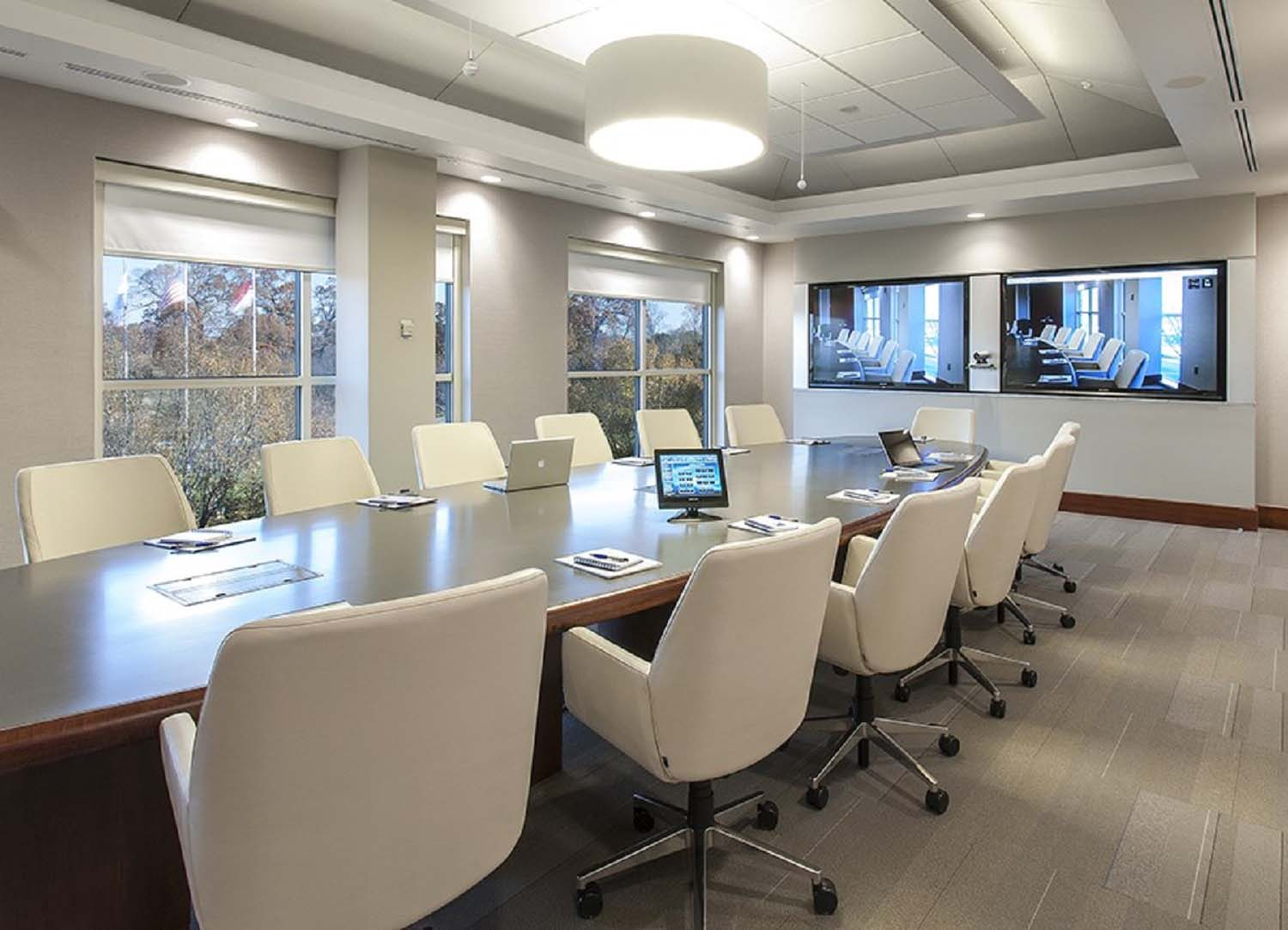 Video Conferencing, Control Systems, Integrated Sound, Sound Masking and Multiple Displays