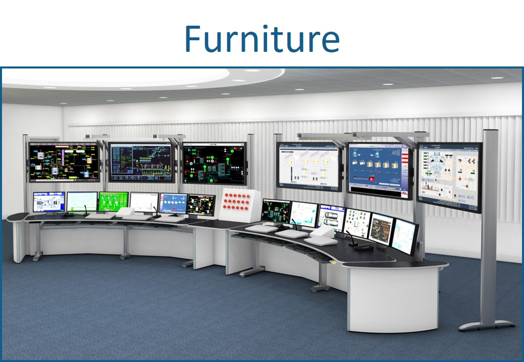 AV control room furniture