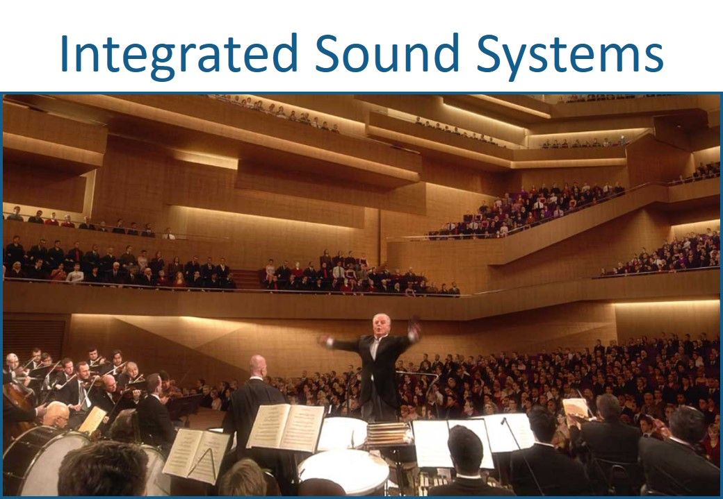 Integrated sound systems