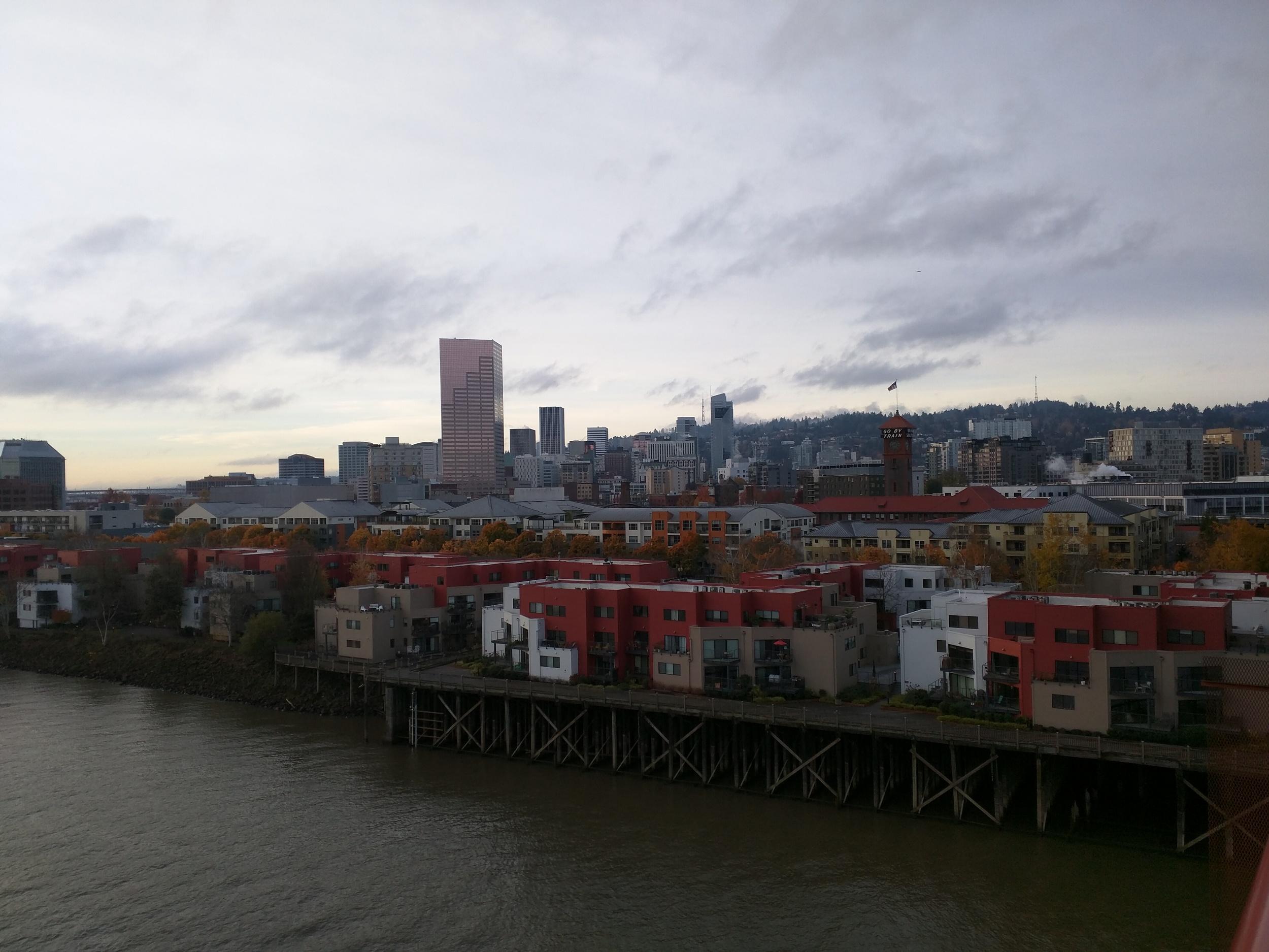 Willamette River and Portland