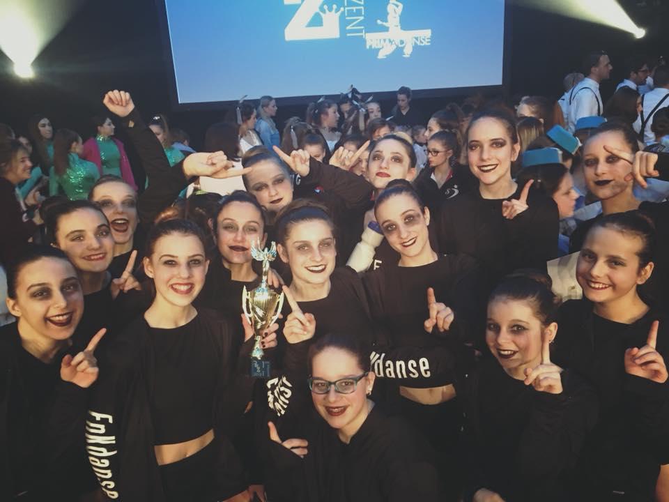 1er prix Troupe Élite en jazz à Reprezent Laval - 8 avril 2018