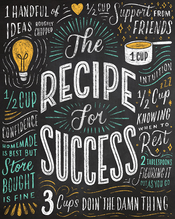Week 2 - What's your recipe for success?