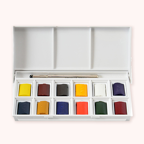 Winsor & Newton watercolors for painting on paper -