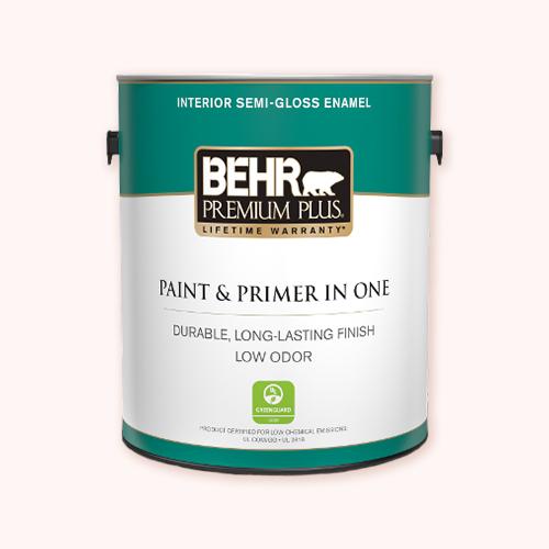 Behr Interior Premium Plus Ultra Enamel for painting indoor murals -