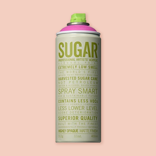 Ironlak Sugar Spray Paint for quick-dry outdoor murals -