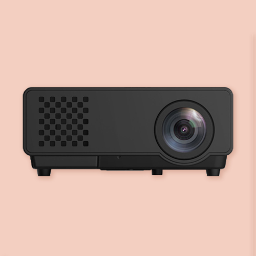 LED Projector to transfer the design to the wall. Budget-friendly. -