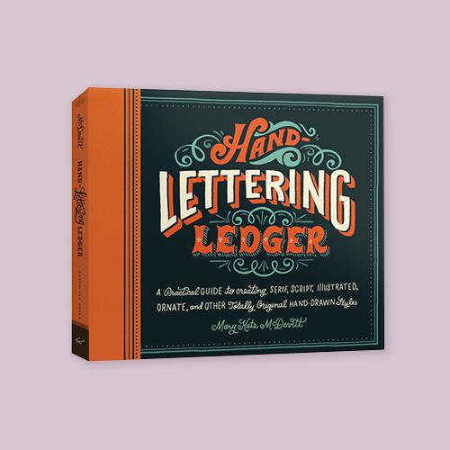 Hand Lettering Ledger by Mary Kate McDevitt -