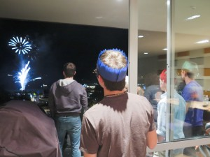 New Year's Eve celebrations overseas