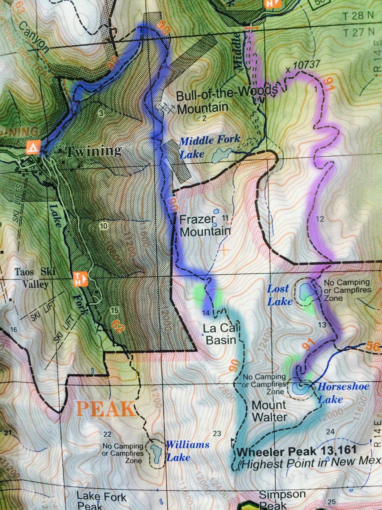 Push ourselves physically on our 30 mile trek through mountainous terrain.