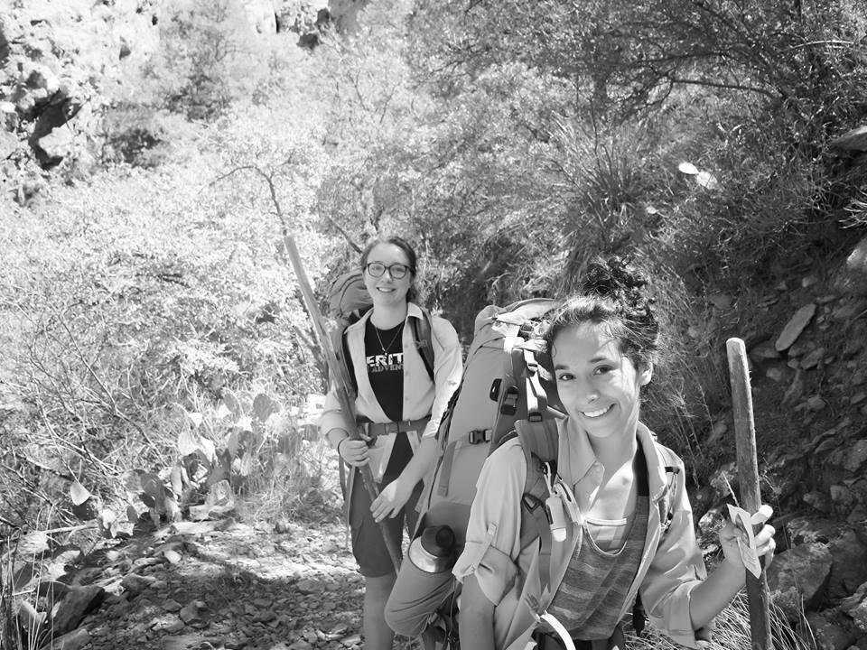 Seekers hiking in Big Bend :: Awakening 2016