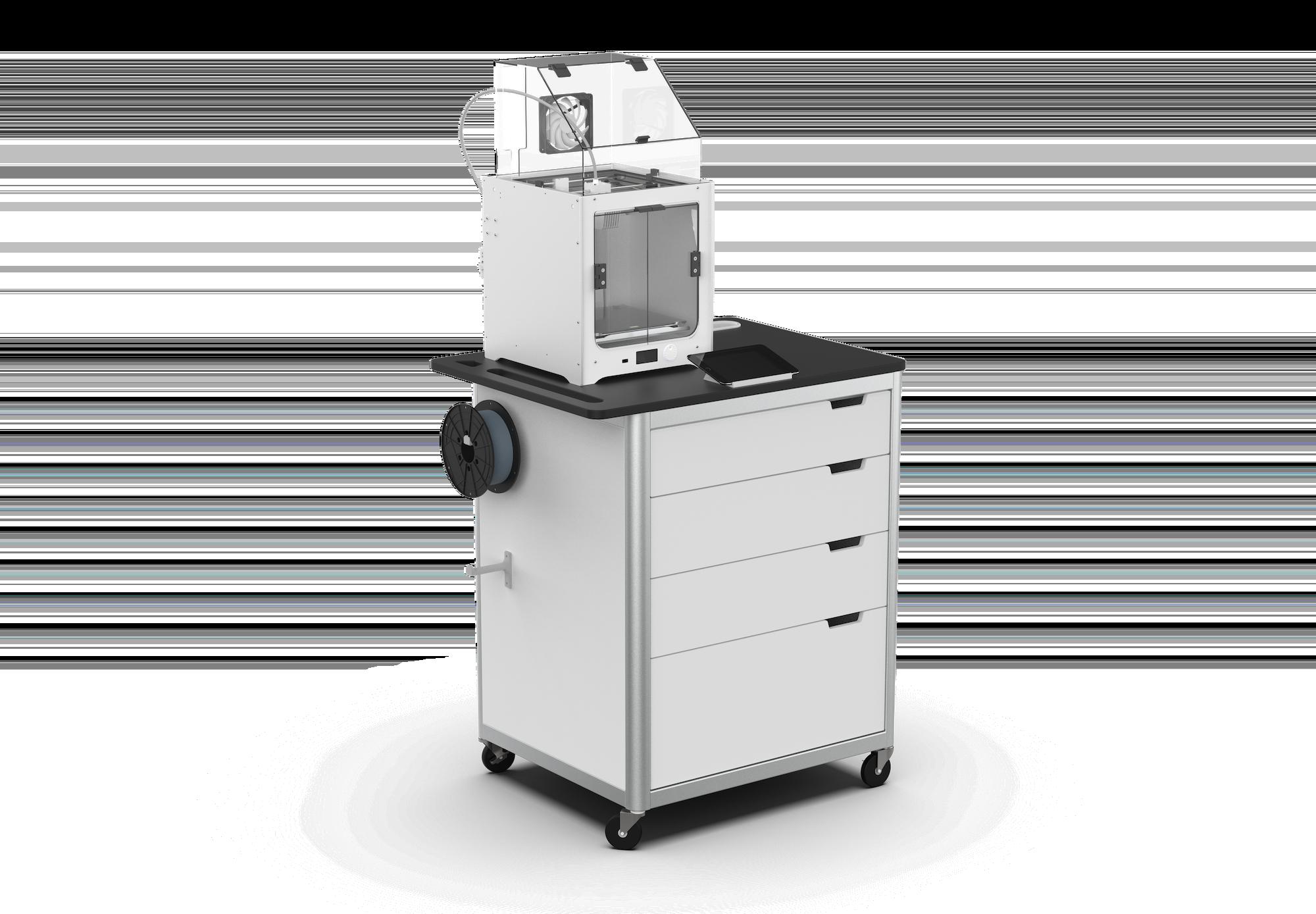 Cart + Quality Printer