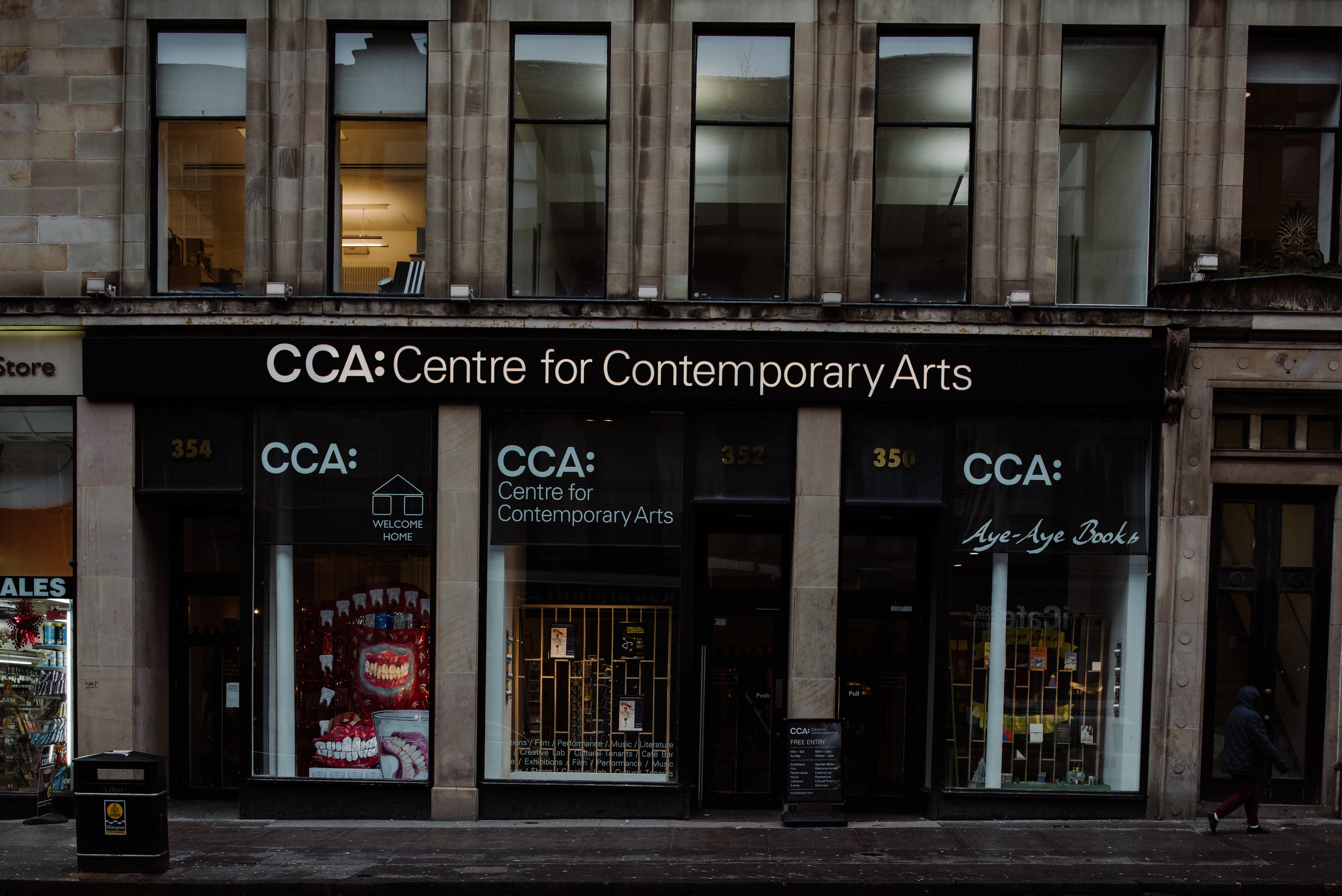 The CCA Building