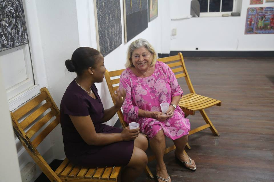 Artist Lime Karyn Blackman and Maria McClafferty- cred MBSL.jpg