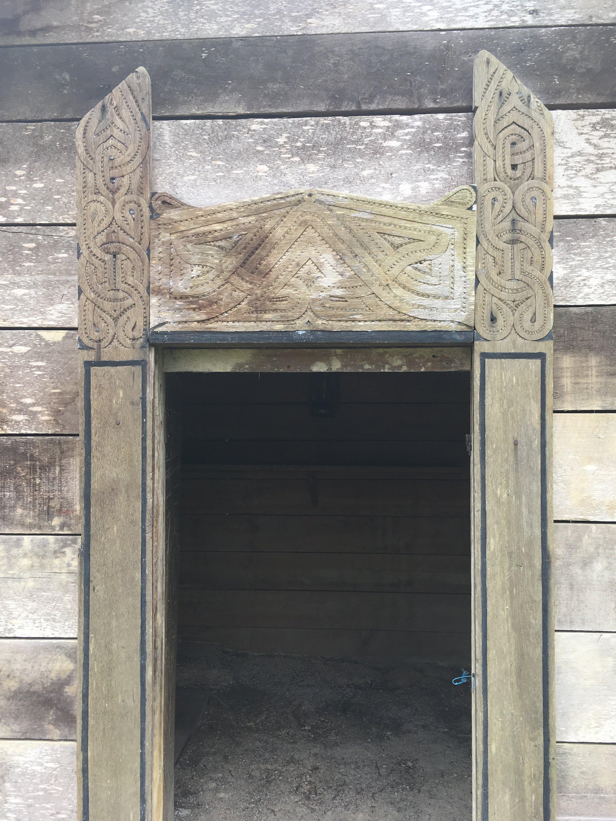 Detail of Ndyuka house.