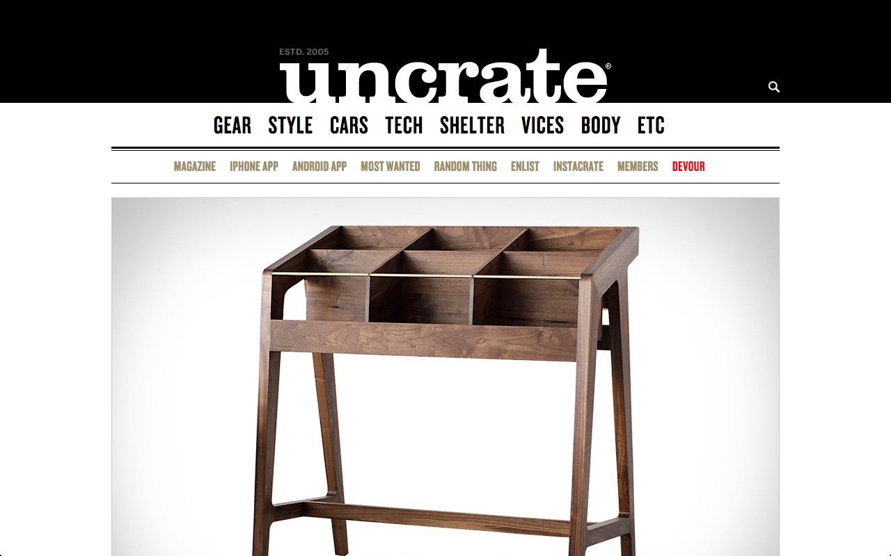 UNCRATE - FEBRUARY 2016