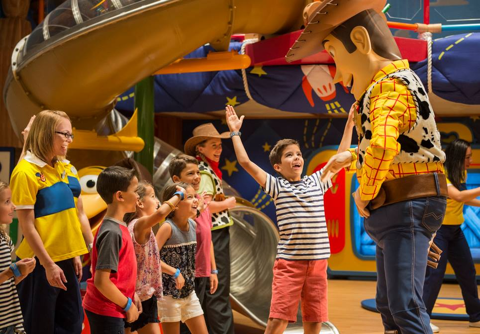Kids Club on Disney Cruise Line
