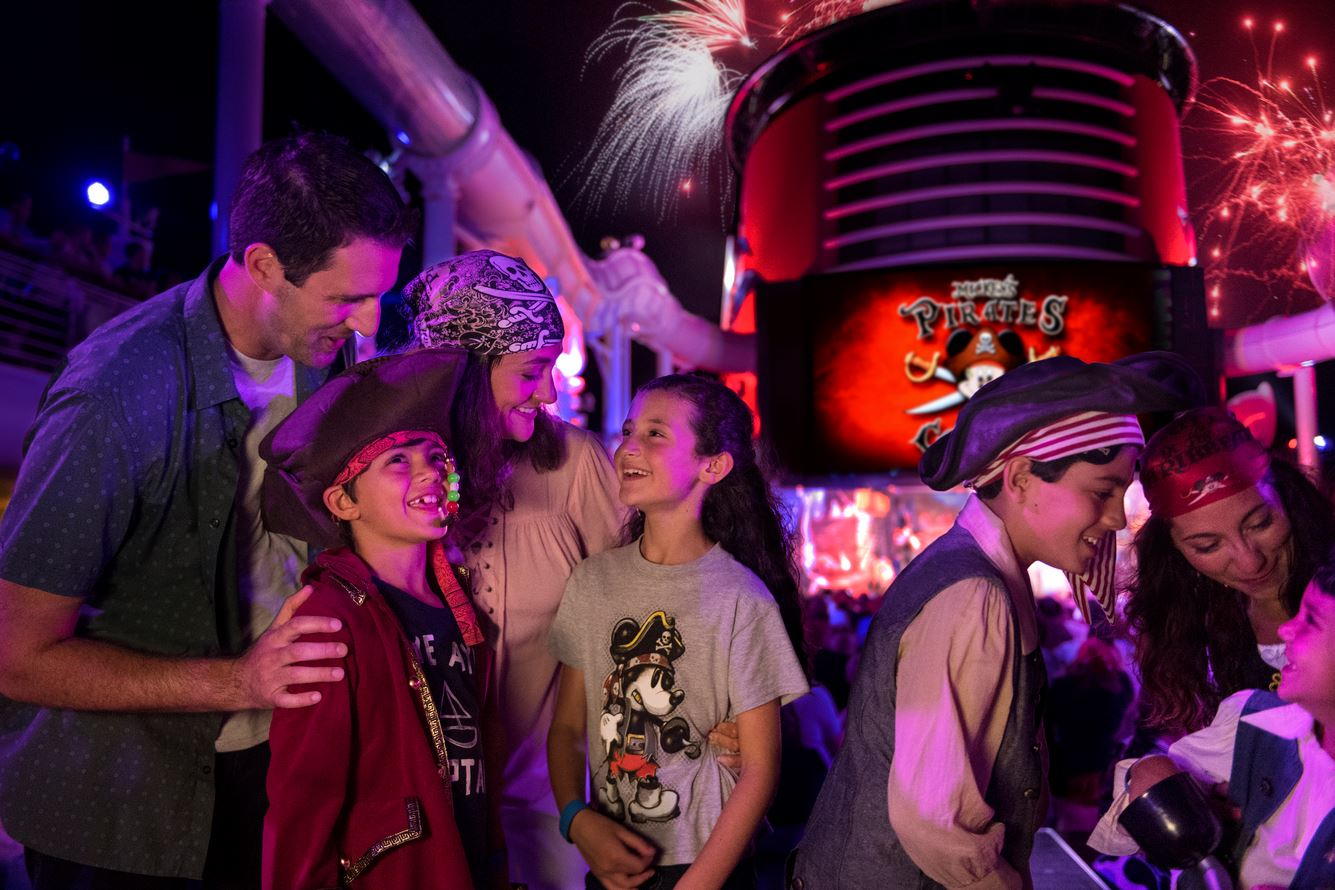 Pirate Night on Disney Cruise Line