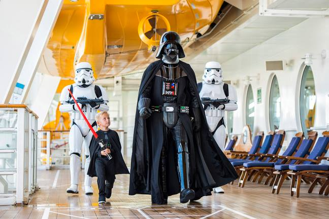 © & ™ Lucasfilm Ltd. | Star Wars at Sea - on select Disney cruises