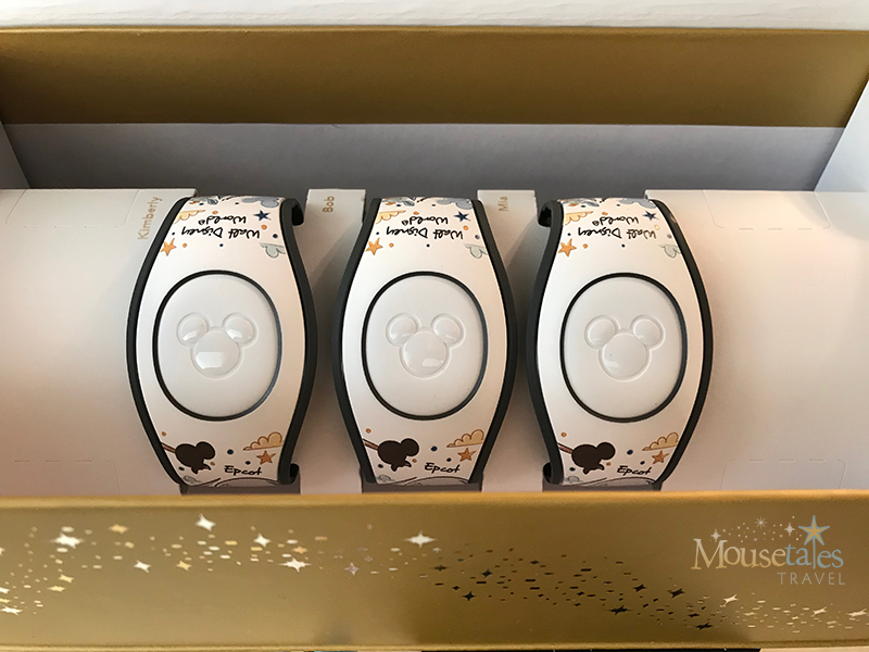 Gift of Magic MagicBands in the gift box