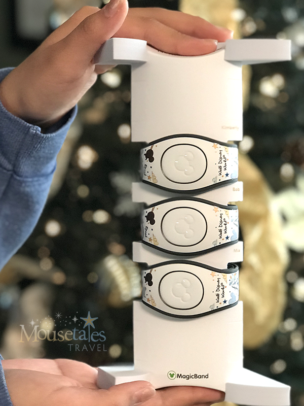 Gift of Magic MagicBands out of the box