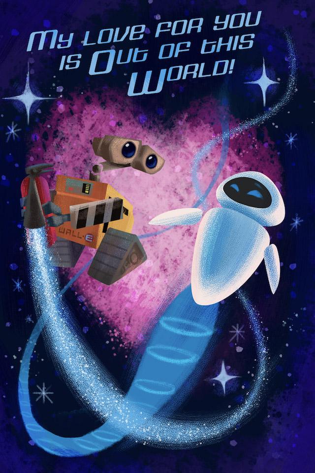 Wall-E Valentine