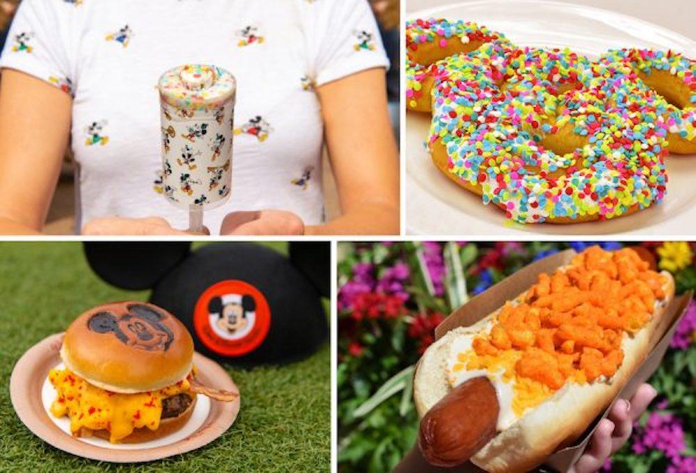 Mickey's Birthday fun snacks at Disney World and Disneyland