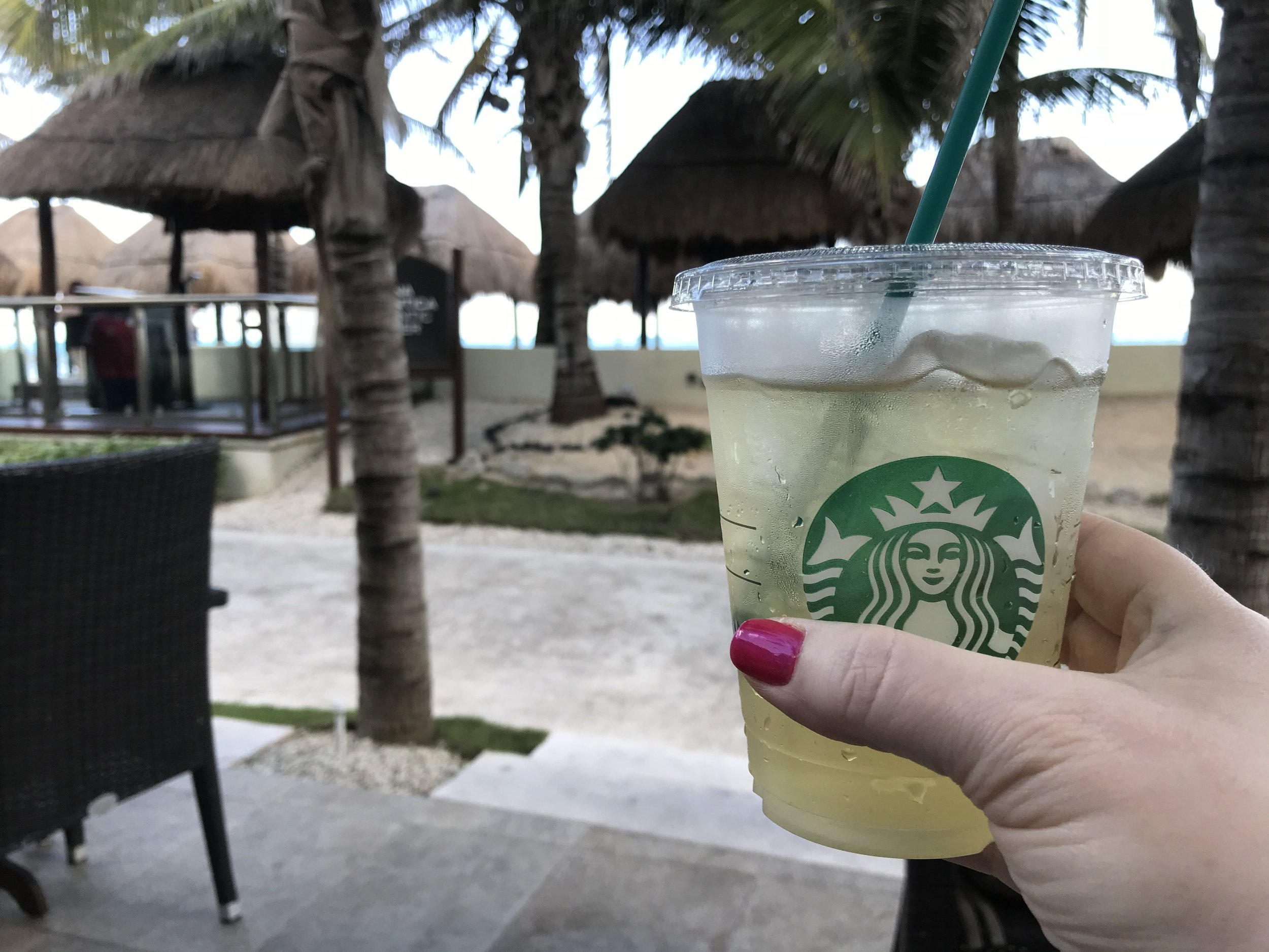 Starbucks at El Dorado Casitas Royale, a Karisma Resort