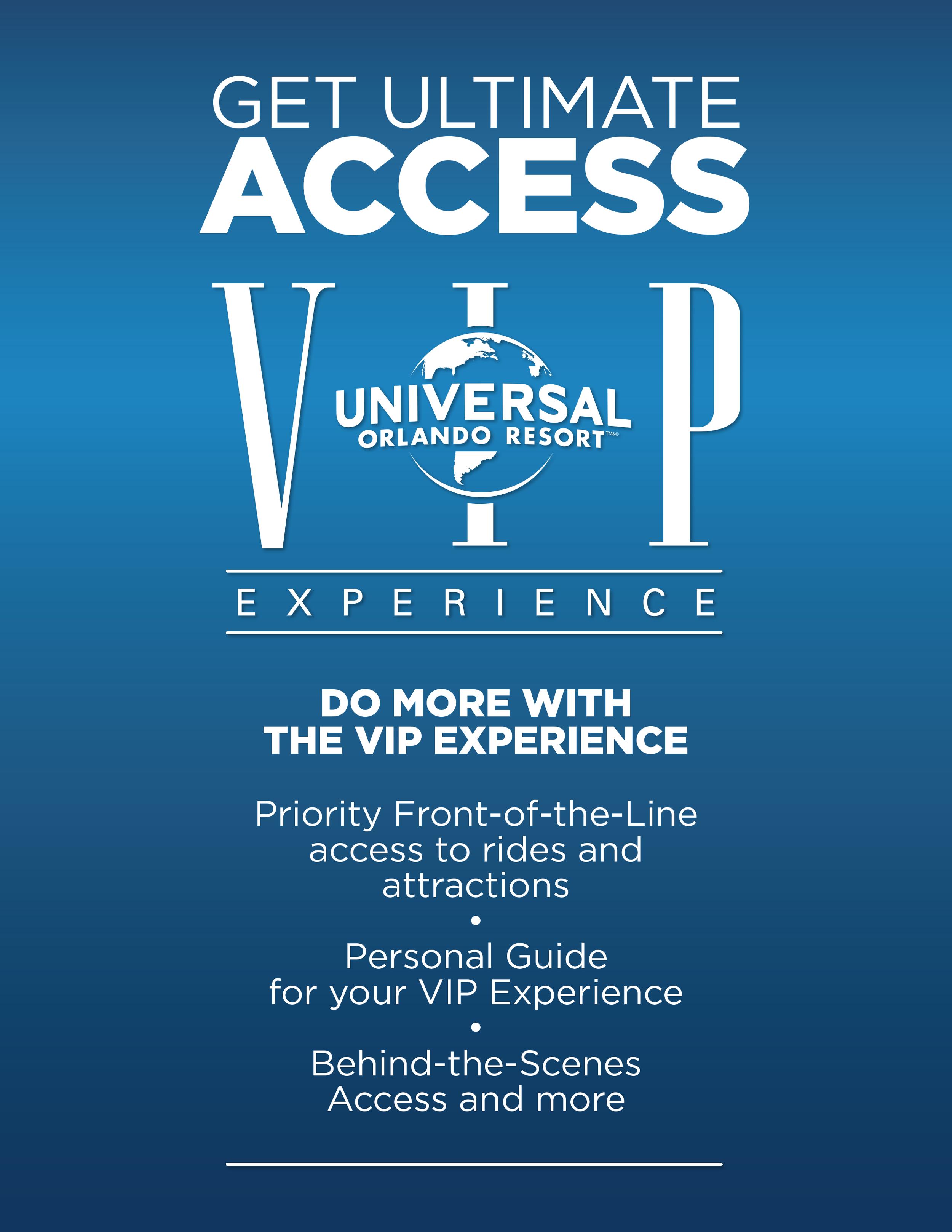 Universal VIP Experience 1