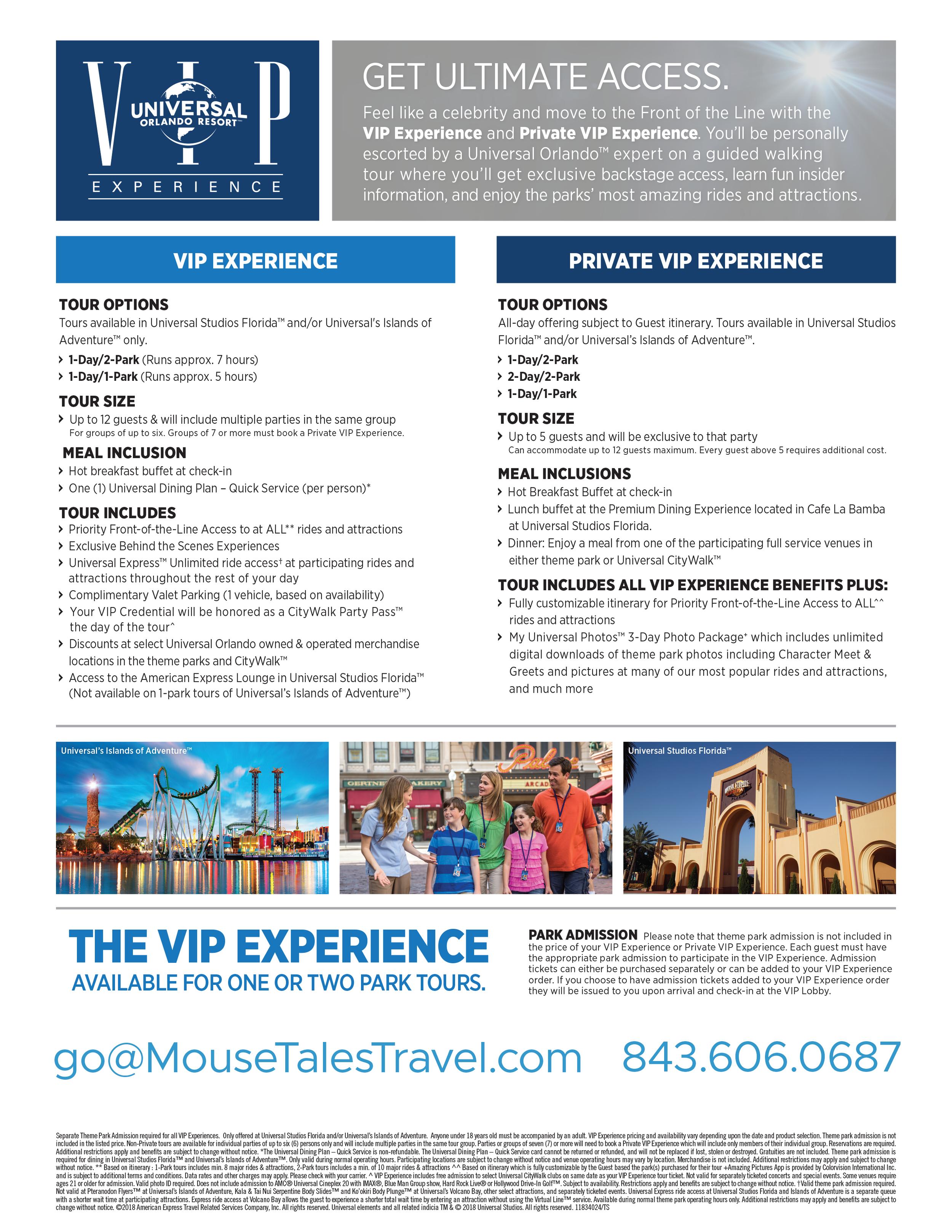 Universal VIP Experience 2