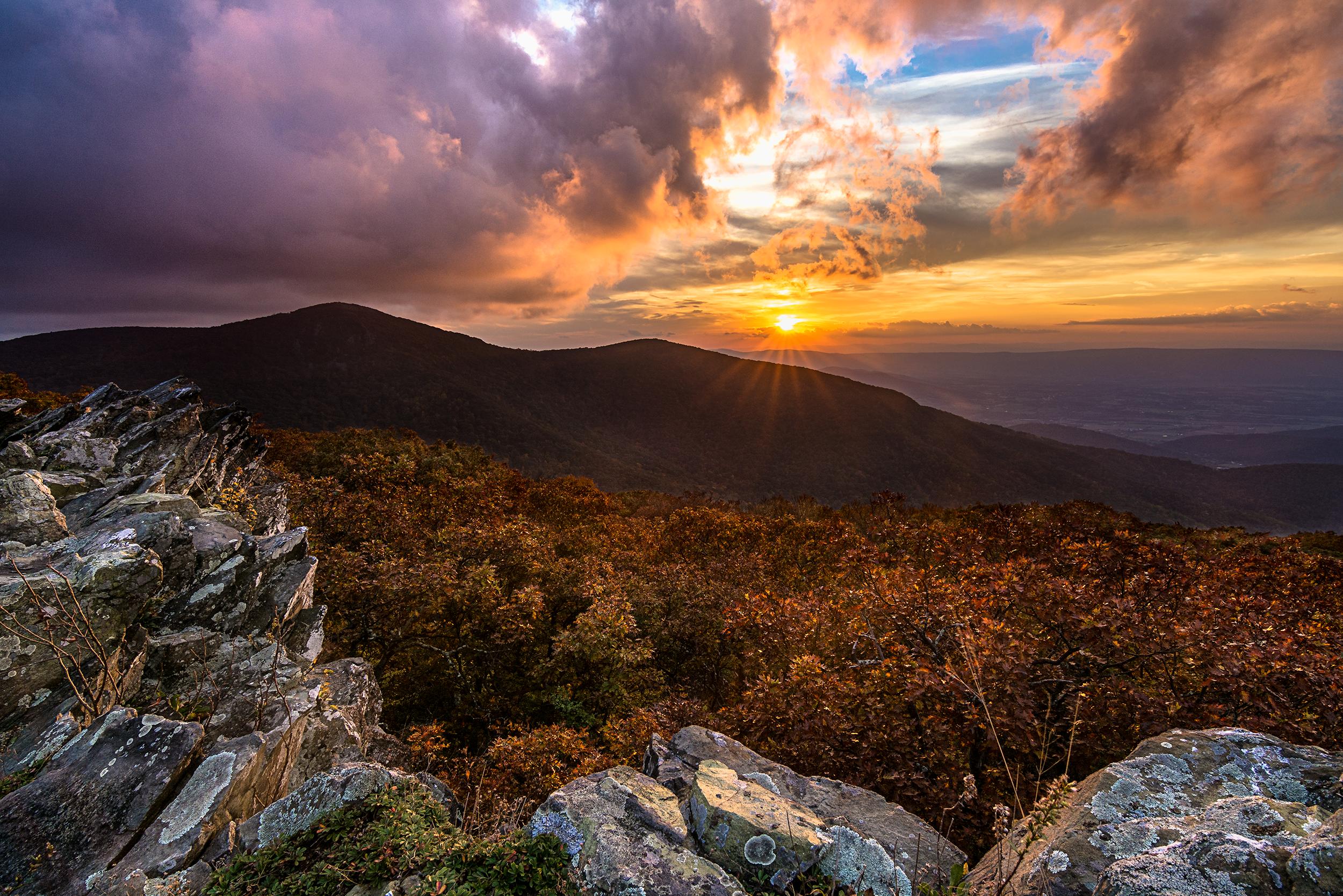 Crescent Rock Sunset
