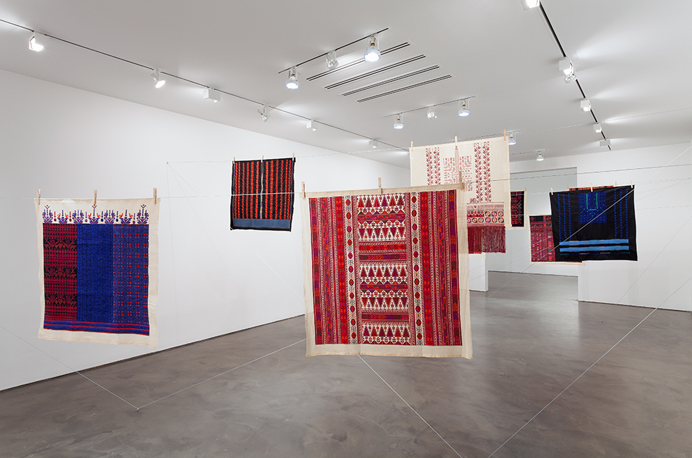 Twelve Windows, 2012-2013, (Mona Hatoum with Inaash) © Courtesy of the artist and Alexander and Bonin, New York © Photo Courtesy Alexander and Bonin, New York