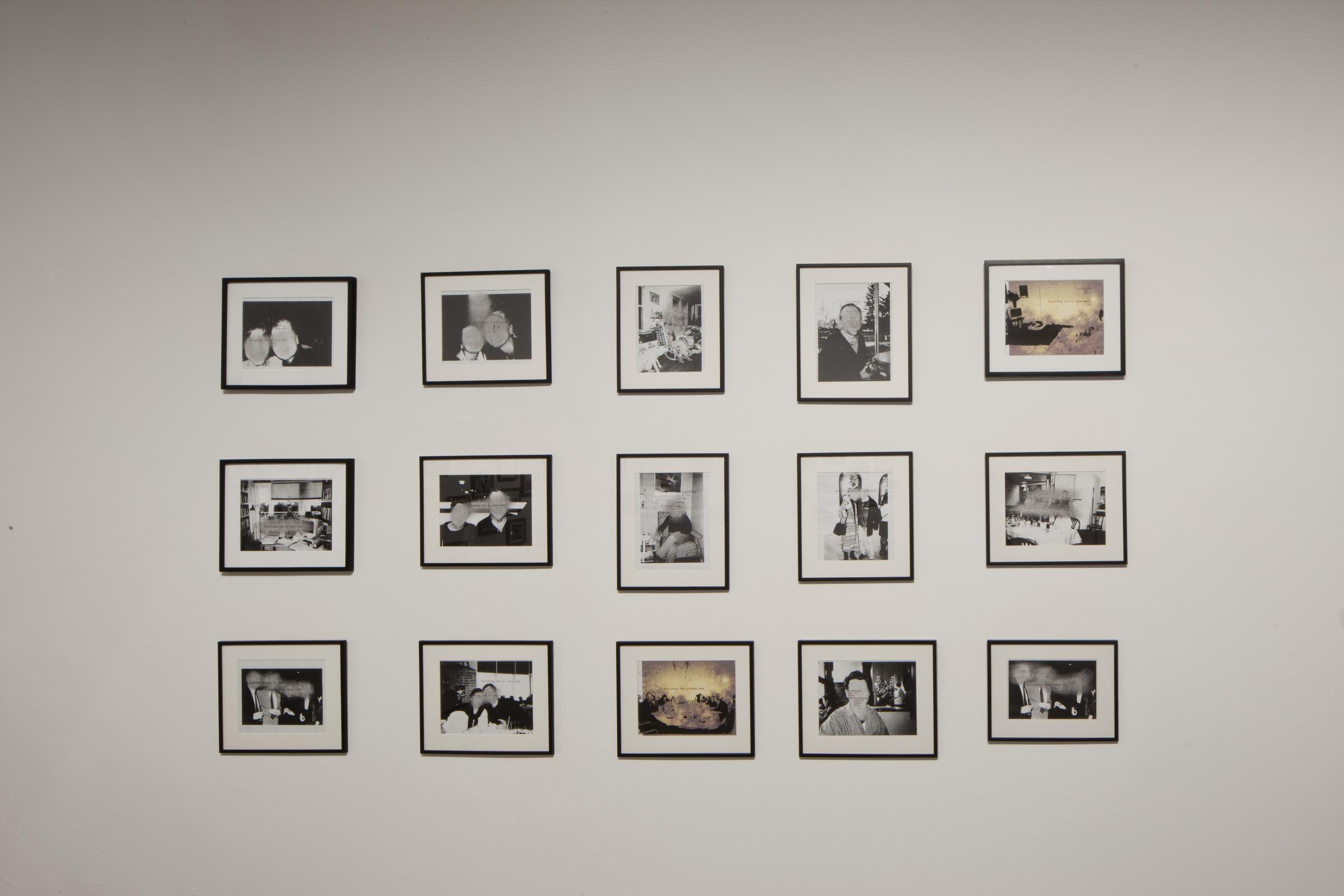 Adrian Piper -Everything 21, 2010-2013.  Photo by Alessandra Chemollo -Courtesy La Biennale di Venezia
