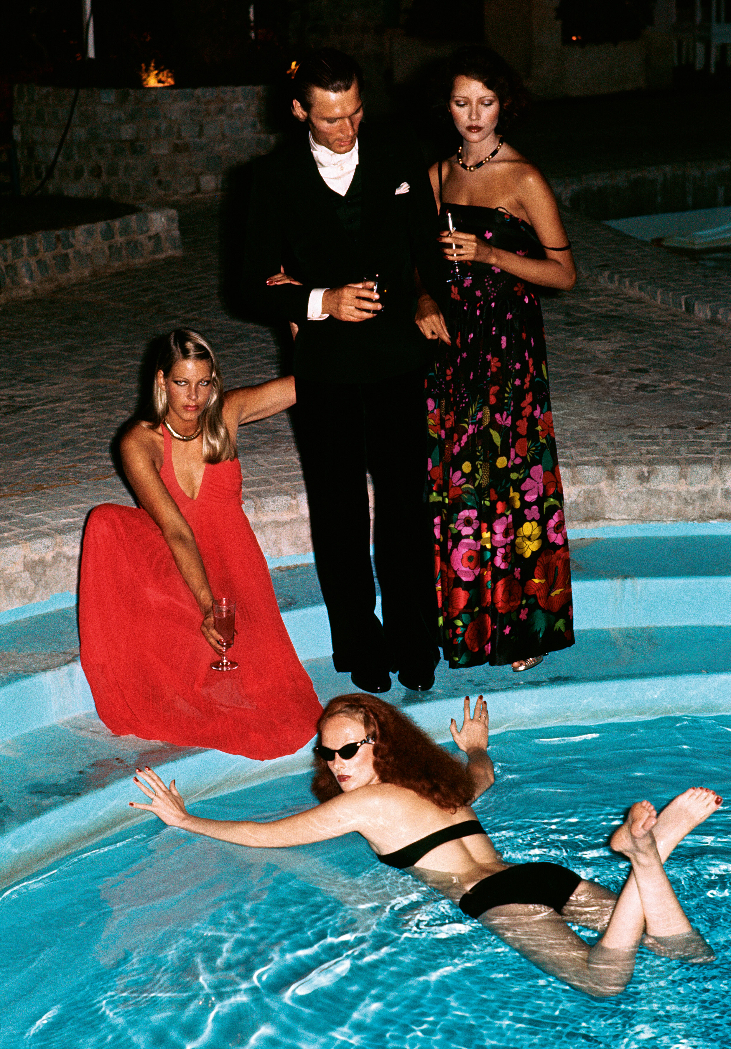 Limelight Nights by Helmut Newton, 1973 ©The Condé Nast Publications Ltd