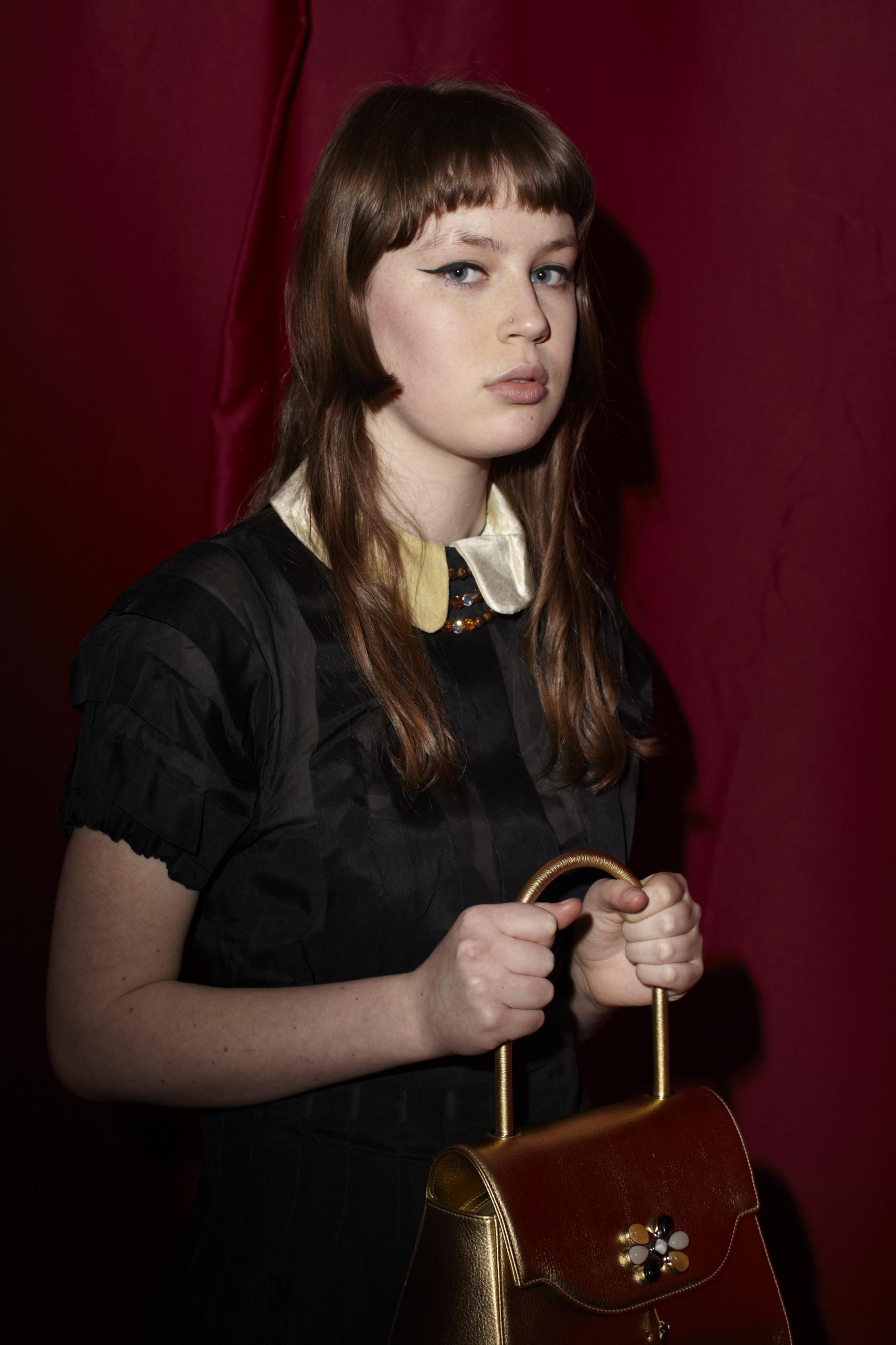 Bag PRAMMA Nr.1d, silk dress Marc By Marc Jacobs