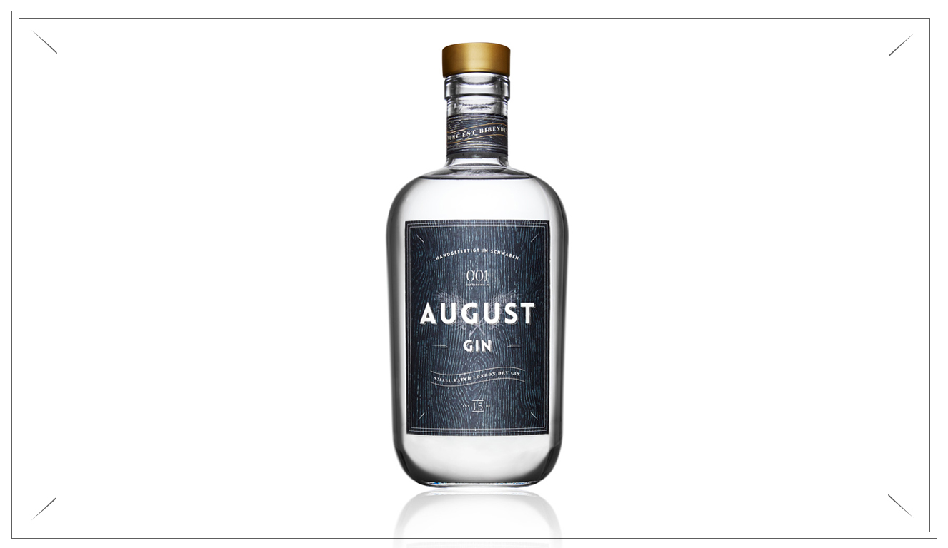 AG102 - GROSSER AUGUST GIN - 1 x 700ml August Gin Flasche (Preis p. Liter 42,71€)29,95 €