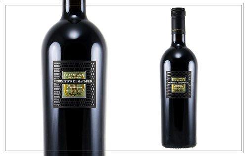 """WM129 - Sessantanni 0,75l - Die Königsklasse des Primitivo wächst an sehr alten Rebstöcken in der Nähe von Manduria. Ein sehr komplexer, ungemein bouquet-reicher Wein. Gehaltvoll und doch geschmeidig mit Aromen von Kirschen, Pflaumen, Kakao. Luca Maroni: """"Bester Rotwein Italiens."""" Preis p. Liter 30,53 €22,90 €"""