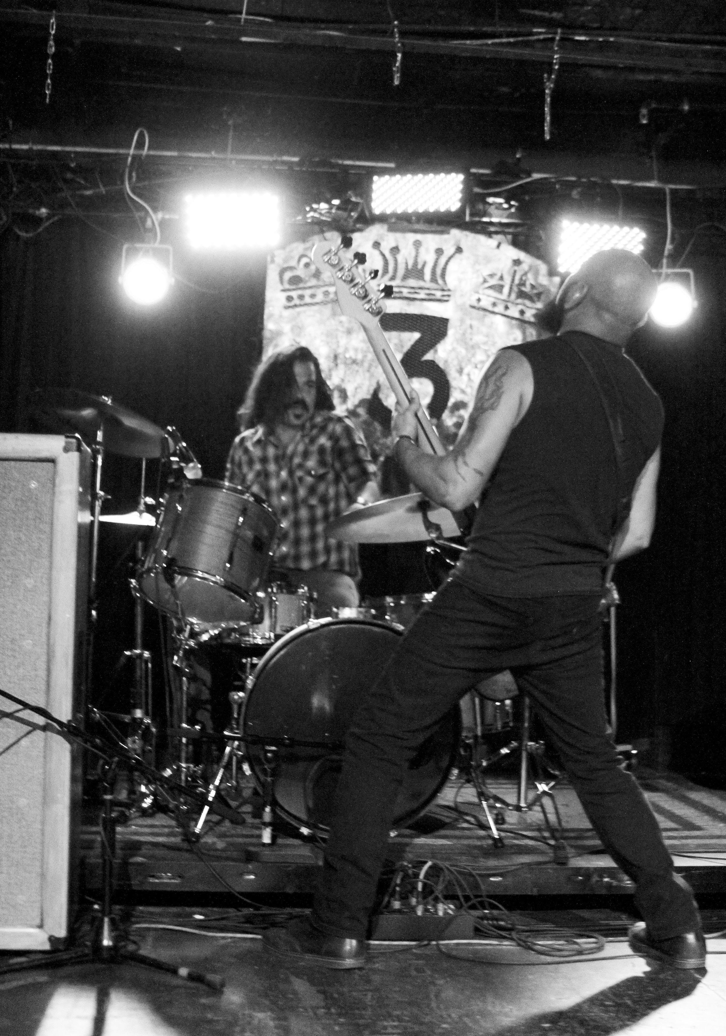 Buddy Hachar and Dan Alvarez, Greenbeard. Photo: Goodwin