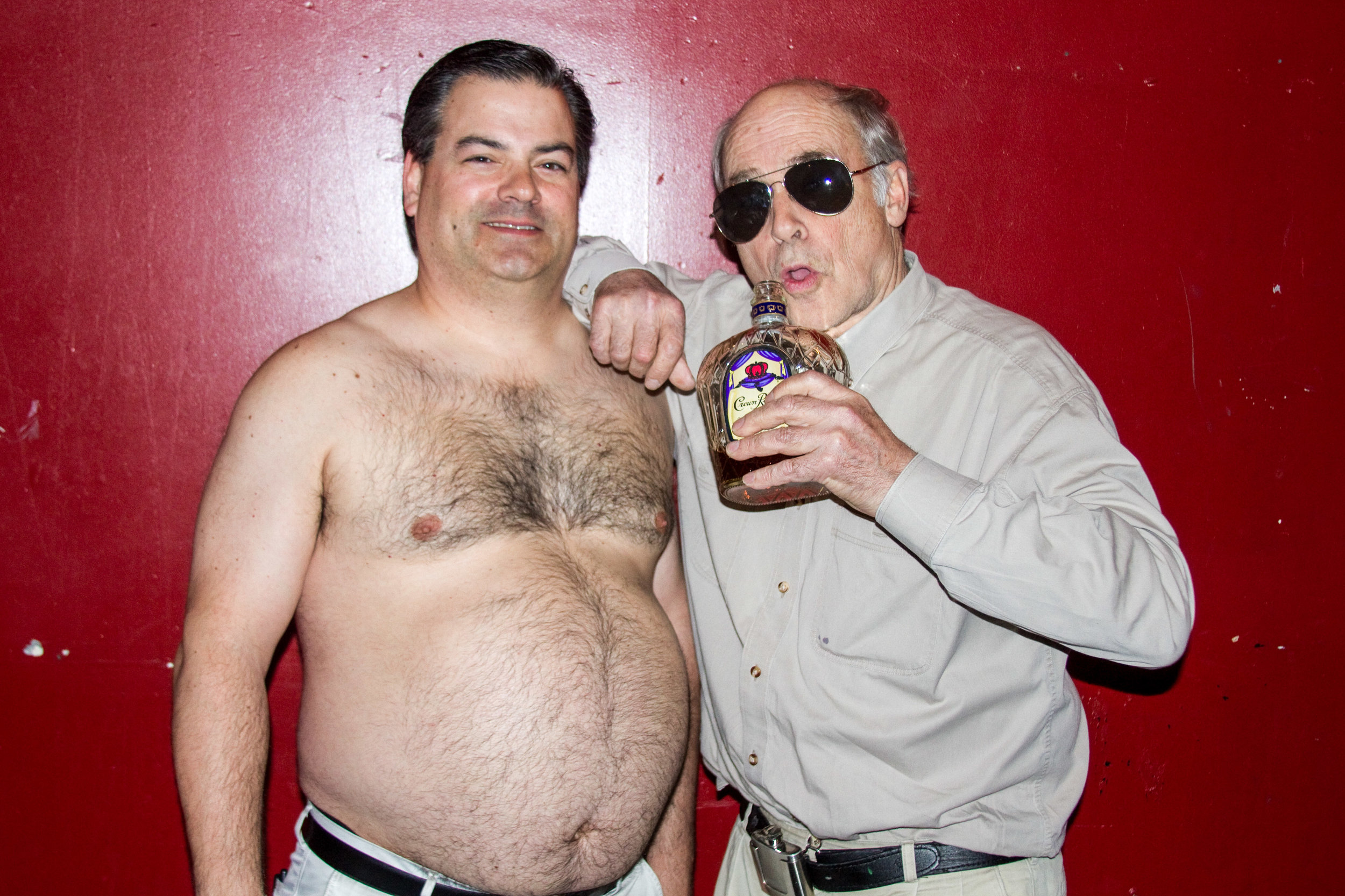 Though his character, Jim Lahey,often drank to a stupor in the show, John rarely drank alcohol.He said that when fans would ask him to drink with them, he'd often pretend to drink, or distract them with a laugh long enough for him to set it aside.