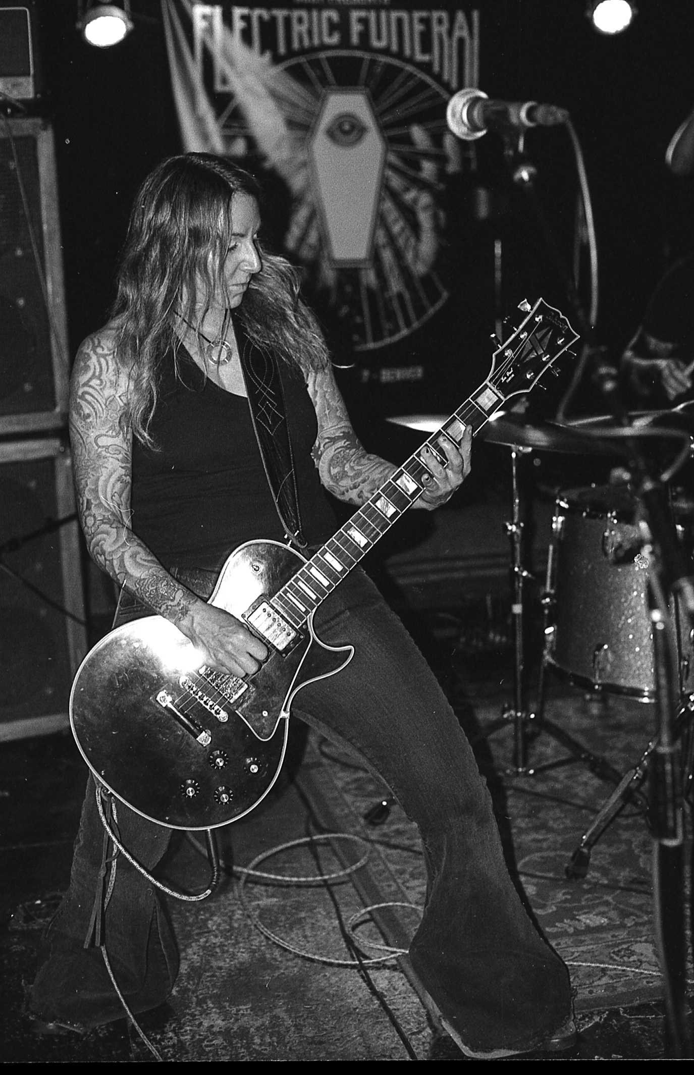 Lori. Acid King, 2017. One of the most humble and excellent people doing it. A lifer and matriarch of the heavy scene. Acid King always delivers, and their festival closing set last year was no exception.