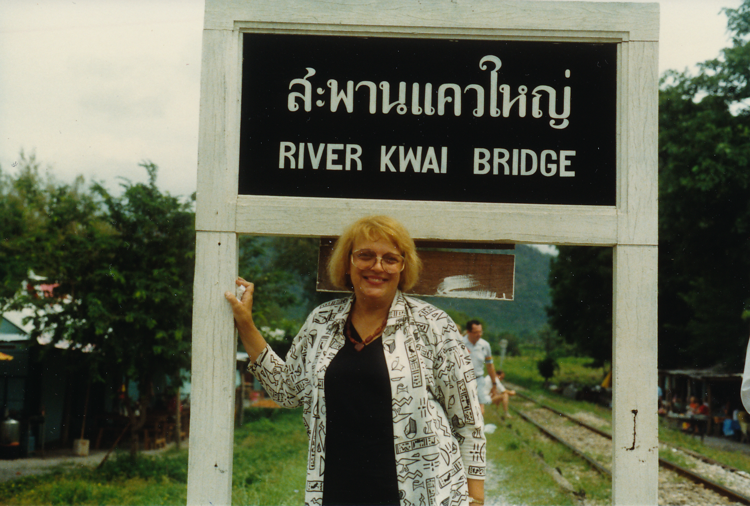 BLS - River Kwai Bridge 1987, Thailand or Japan.jpeg