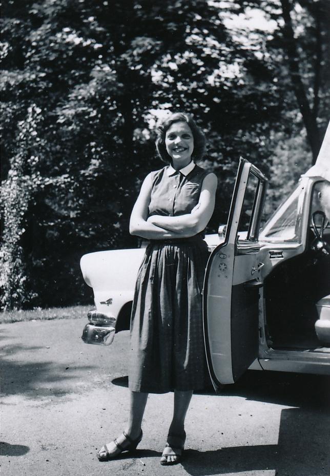 BLS 1956 B & W with car.jpeg