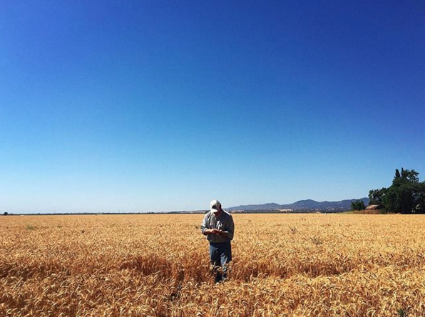 This is Fritz Durst, farmer extraordinaire, in his element, following his dreams.
