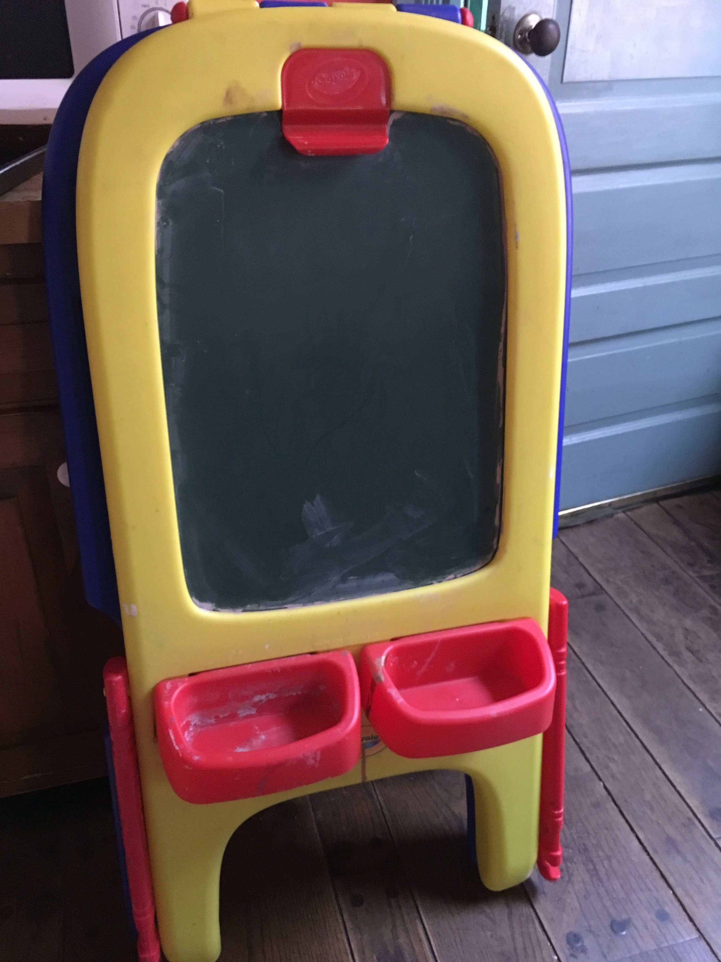 Crayola Easel (needs to be cleaned) $15