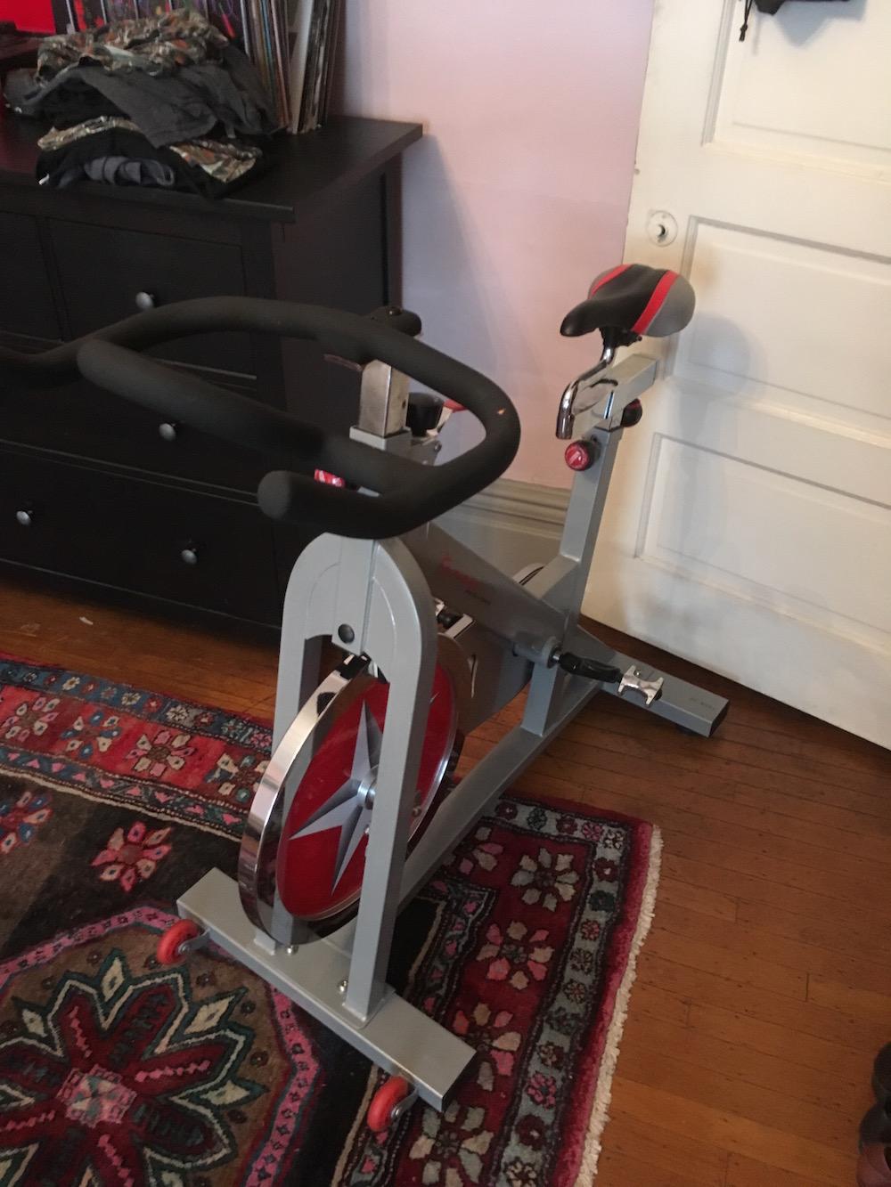 Spinning bike $125