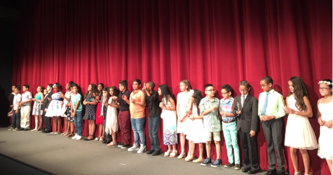 4th Graders at a recent premiere of their animated films in NY @ the Burns Film Center.